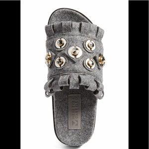 Mercedes Castillo Loula Sandal Flannel Grey 36